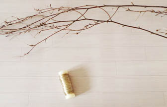 créer nid, panier, branches bois naturel arbre diy