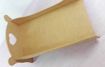 lit simple bois à customiser jouet poupée doudou, simple à monter