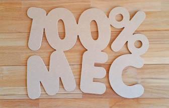 forme en bois à customiser, 100% mec mot, déco chambre