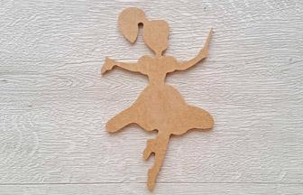 petite fée baguette à customiser en bois déco chambre
