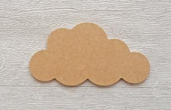 moyen nuage en bois à customiser déco chambre