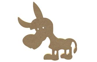 petit âne en bois à customiser