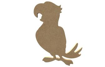 petit perroquet en bois à customiser