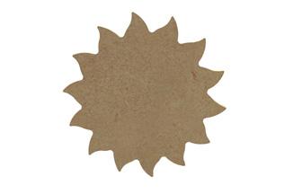 forme en bois soleil à décorer
