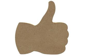 pouce ok facebook en bois à décorer