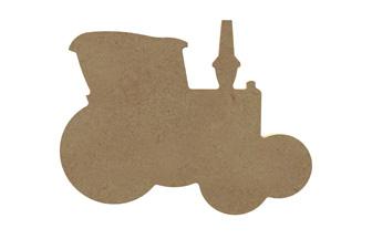 petit tracteur en bois à customiser